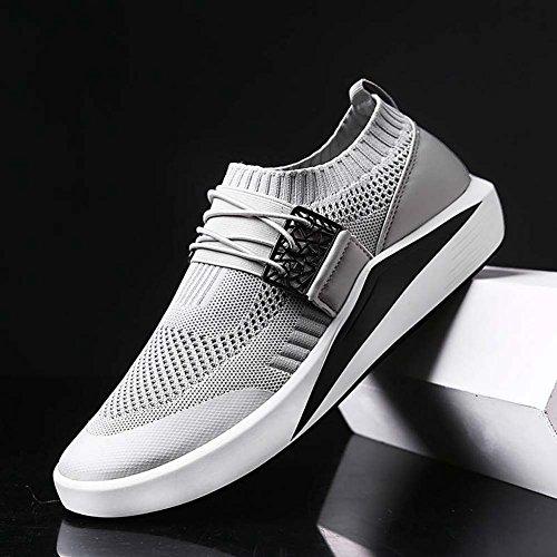 clair Course Gris Fitness Chaussures Légers Sports de Hommes Fitness Fitness de Running Pour RHUfq7