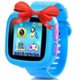 Kids Smart Watch Game Smart Watch with Puzzle Games Toys Camera Pedometer Alarm Clock Calculator...