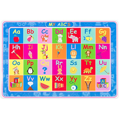 ABC's and NUMBERS PLACEMAT