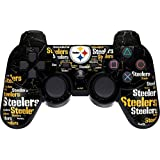 NFL - Pittsburgh Steelers - Pittburgh Steelers Blast - Sony PS3 Dual Shock wireless controller - Skinit Skin