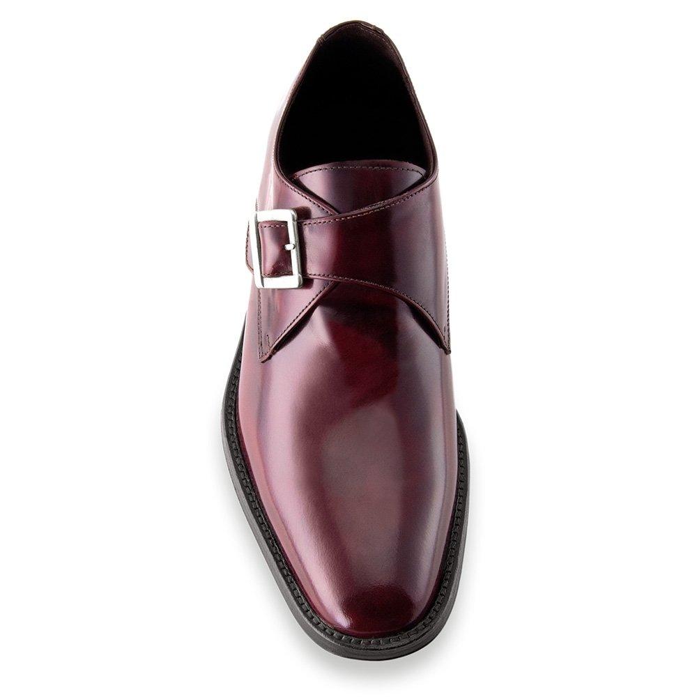 Modello Bari Masaltos Scarpe con Rialzo per Uomo Che Aumentano l/'Altezza Fino a 7 cm Fabbricate in Pelle