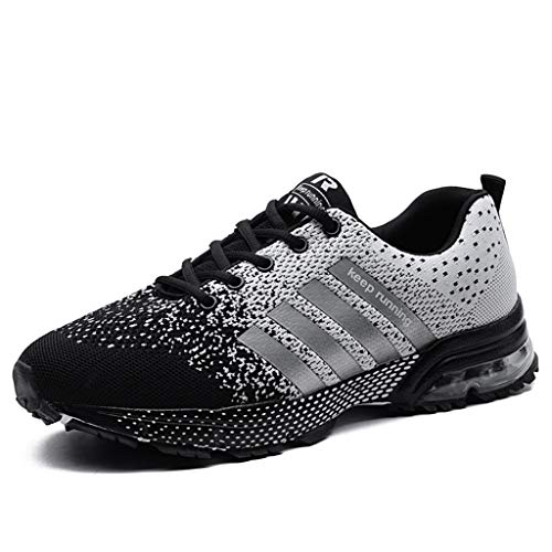 ♡QueenBB♡ Sneakers Lightweight Casual Walking Shoes Gym Breathable Tennis Gym Running Sports Shoes for Women Men (US 5-11)