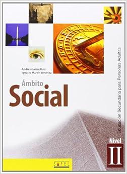 Book Ámbito social, nivel II