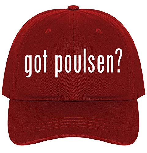got Poulsen? - A Nice Comfortable Adjustable Dad Hat Cap, Red ()