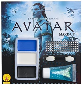 Costumes For All Occasions Ru19897 Avatar Na Vi Makeup Kit ...