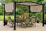 The Outdoor Patio Store Kmart Essential Garden Curved Pergola Canopy - High Grade 300D