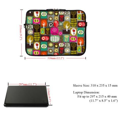 29,46 cm Neopren Tasche Tragetasche mit verstecktem Griff und verstellbarem Schultergurt Pc Board Design Colorful Life Design