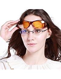 Night Vision Glasses Polarized Wrap Around Prescription Eyewear 8953Y
