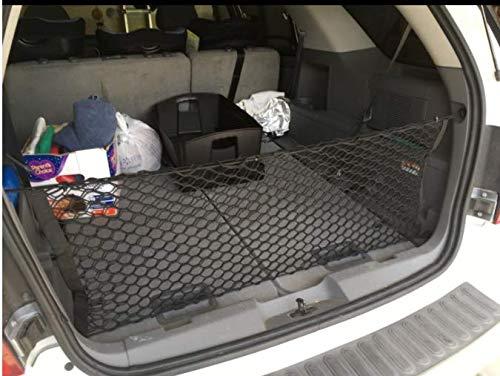 REDWOLF Rear Trunk Cargo Net for Mercedes Benz G500 G55 G550 G63 G65 AMG 1999-2017 Envelope Style Storage Net
