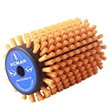 Alpine Nordic Roto Brush For Cross Country Ski Waxing Fits 10mm Hex Shaft 100mm Length (Roto Soft Nylon Brush)