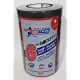 Black Hockey Tape - Stick Tape - 6 Pack - 24mm x 25m - Made in Canada Specifically for Hockey
