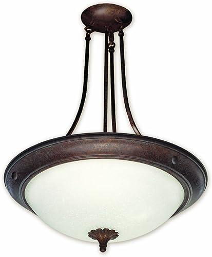 Good Earth Lighting G4919-ABZ-I Barrington 19-Inch 2 by 26W Pendant, Antique Bronze
