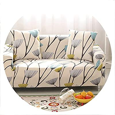sensitives 1PC Elastic Printed Sofa Covers Stretch Universal Sectional Throw Couch Corner Cover Cases for Furniture Armchairs Home Decor