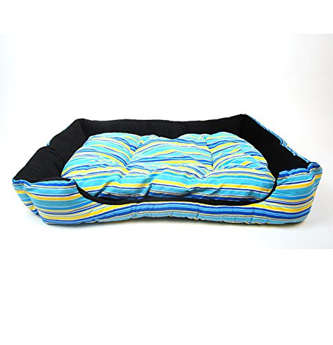 CHONGWUCX Female Pet Bow Bow Nest Pet Doggy Nest Comfortable soft cotton pad detachable
