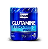 USN Pure Micronized Bioavailable Glutamine Powder, Unflavored, 500 Gram, 17.637 Ounce by CustomPlus Distributing - HPC