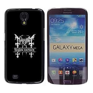 // PHONE CASE GIFT // Duro Estuche protector PC Cáscara Plástico Carcasa Funda Hard Protective Case for Samsung Galaxy Mega 6.3 / Legión sesión /