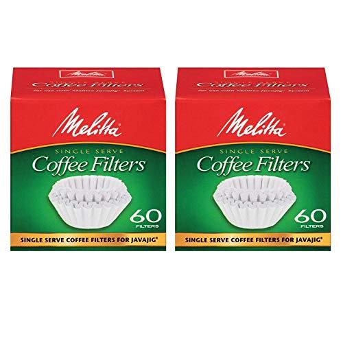 Melitta Java Jig, Single Serve Paper Coffee Filters - 2 ()