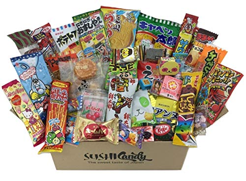 (40 Japanese Candy & snack set POPIN COOKIN, Japanese kitkat and other popular)