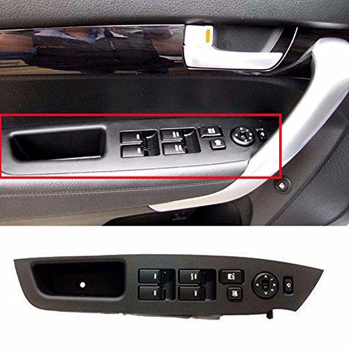 Main Power Window Switch Lever Assy LH For KIA 2010-2014 Sorento OEM Parts ()