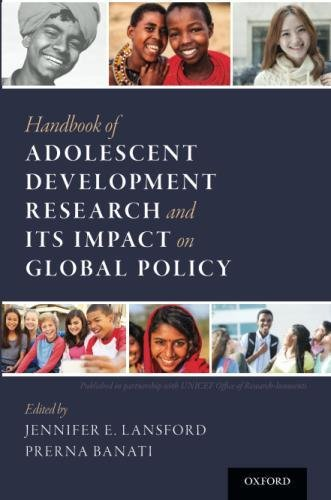 Handbook Of Adolescent Development Research And Its Impact On Global Policy