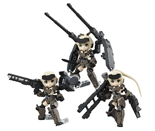 Poseable Arms - Megahouse Desk Top Army: Frame Arms Girl KT-321f Gourai Series Poseable Figure Set