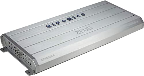Hifonics ZRX2016.4 Zeus Car Audio Amplifier, 4-Channel 2000-Watt