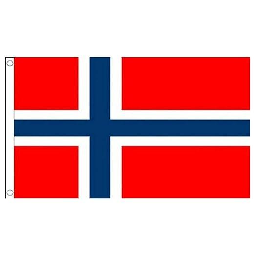 TrifyCore Accesorio Decorativo Bandera Noruega 1 PC