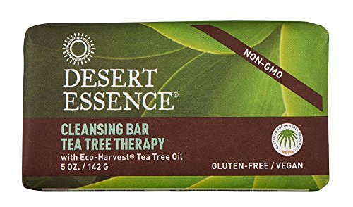 Desert Essence Organic Tea Tree Bar Soap - 5 Oz