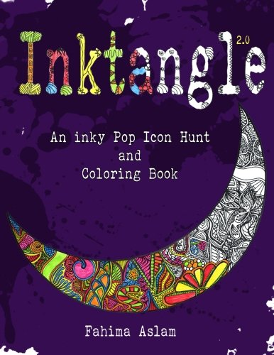 Download Inktangle 2.0: An inky Pop Icon Hunt and Coloring Book pdf epub