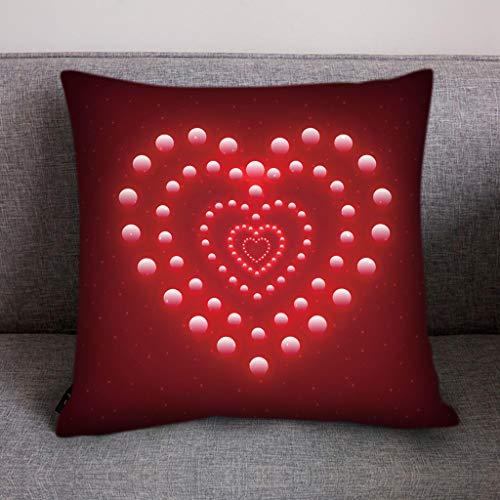 - Throw Pillow Cover, DaySeventh Print Pillow Case Polyester Sofa Car Cushion Cover Home Decor 18x18 Inch 45x45 cm