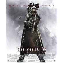 BLADE 2 Original Movie Poster 27x40 - DS - FINAL - WESLEY SNIPES