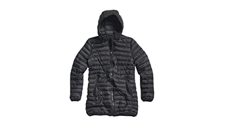 North Sails jkt Ray 011662 piumino nero lungo donna: Amazon