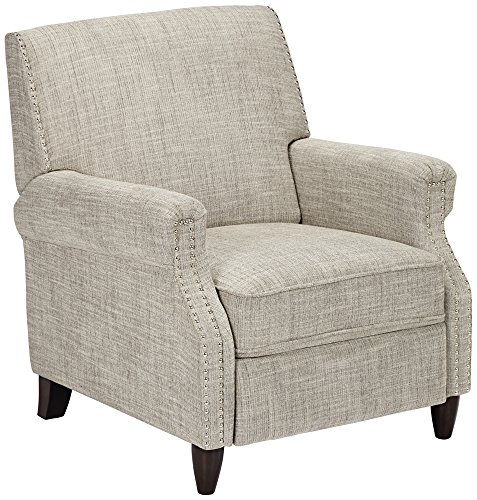 Hudson Los Angeles Sand Fabric Recliner