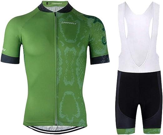 YDJGY Ropa Ciclismo Para Hombres Ropa Ciclismo Verano Transpirable ...