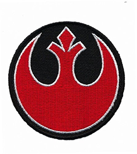 (Miltacusa Star Wars Squadron Rebel Alliance Jedi Order Hook Patch (RED/BLK))