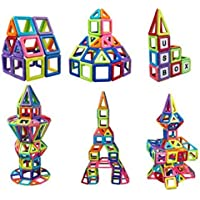 119pcs المغناطيسي البناء التعليمية بناء لعبة طفل الطفل كتلة مجموعة
