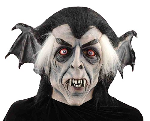 [Forum Novelties Men's Winged Vampire Full Mask, Multi, One Size] (Goth Vampire Mask)