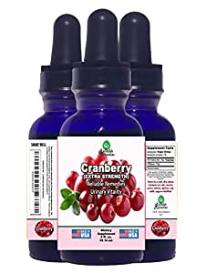 2 OUNCE! - CRANBERRY (URINARY VITALITY) - BY RELIABLE REMEDIES! - FREE HOME HERBAL HINTS eBook! - LIQUID EXTRACT! - MADE IN AMERICA! - ALCOHOL FREE! - 100% MONEY BACK GUARANTEE!** - SALE!