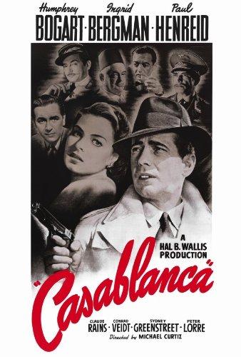 Casablanca 27x40 Movie Poster