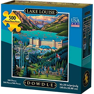 Dowdle Jigsaw Puzzle - Lake Louise - 500 Piece: Toys & Games