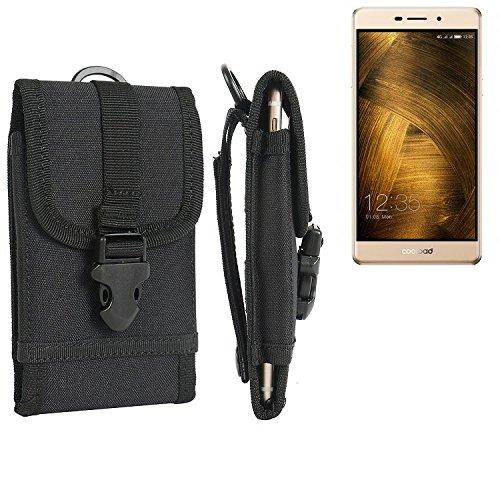 bolsa del cinturón / funda para Coolpad Modena 2, negro | caja del teléfono cubierta protectora bolso - K-S-Trade (TM)