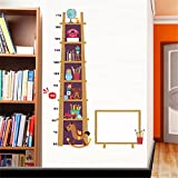 Ghaif Children's rooms are decorated with lovely animal shelf posters wall surface self adhesive baby bedroom measurement height sticker removable 6090CM