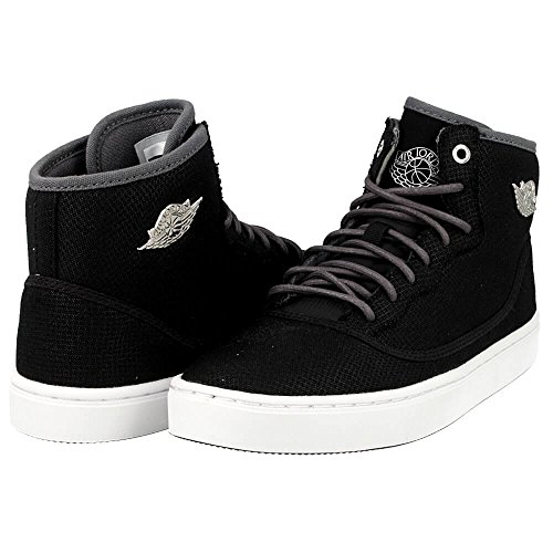Jordan JORDAN JASMINE GG girls basketball-shoes 768927-010_9.5Y - BLACK/DARK GREY/WHITE/METALLIC SILVER by Jordan