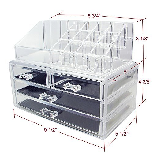 ikee-design-acrylic-jewelry-cosmetic-storage-display-boxes-two-pieces-set
