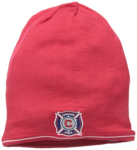 MLS Chicago Fire Men's Reversible Cuffless Player Knit, One Size, ()