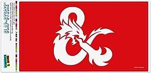 GRAPHICS & MORE Dungeons & Dragons Ampersand Automotive Car Window Locker Bumper Sticker