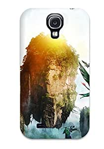 High-quality Durability Case For Galaxy S4(avatar Mountains)