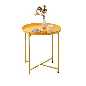 Size : L Mobilier de jardin ZHAOSHUNLI Table Basse Pliante ...