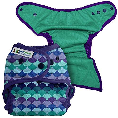 Best Bottom Swim Diaper, Mermaid Tail