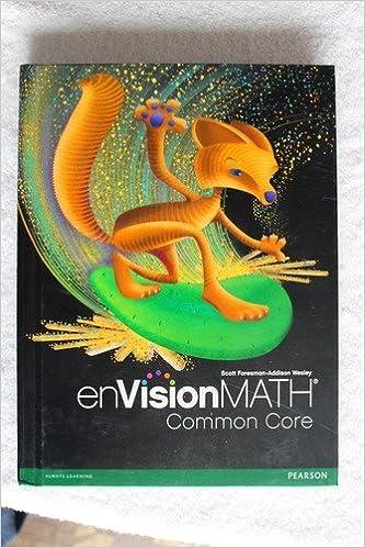 Amazoncom Envision Math Grade 6 Common Core 9780328672646 Books
